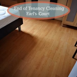 end of tenancy earls court